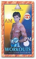 AM/PM WORKOUTS WITH JOHN BASEDOW VHS