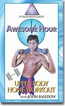AWESOME HOUR UPPER BODY HOME WORKOUT VHS