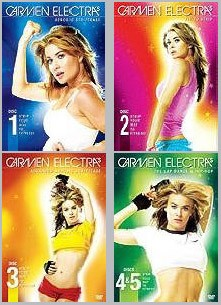 CARMEN ELECTRA'S AEROBIC STRIPTEASE 5 VOLUME SET