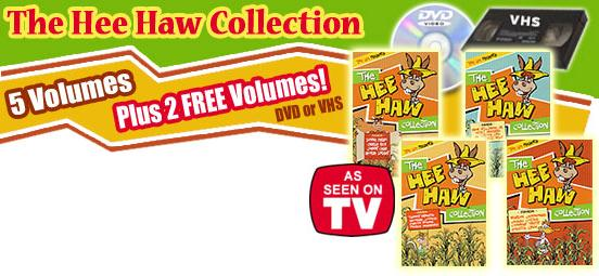 HEE HAW COLLECTION BY TIME LIFE  - DVD