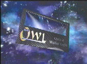 OWL OPTICAL WALLET LIGHT