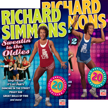 RICHARD SIMMONS SWEATIN' TO THE OLDIES DVD