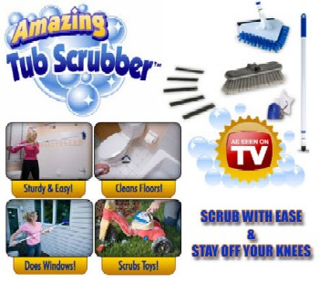 AMAZING TUB SCRUBBER